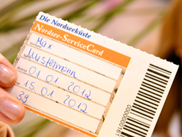 Nordsee Service Card